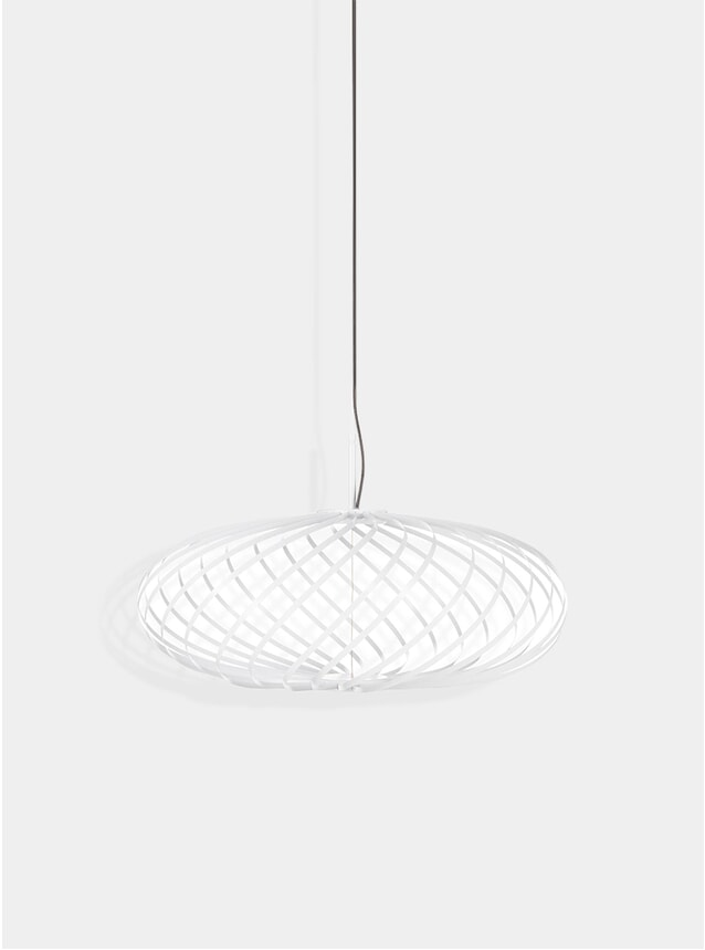 White Small Spring Pendant Lamp