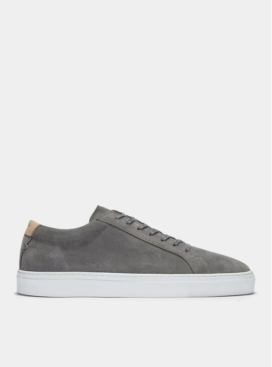 Grey Suede Series 1 Sneakers