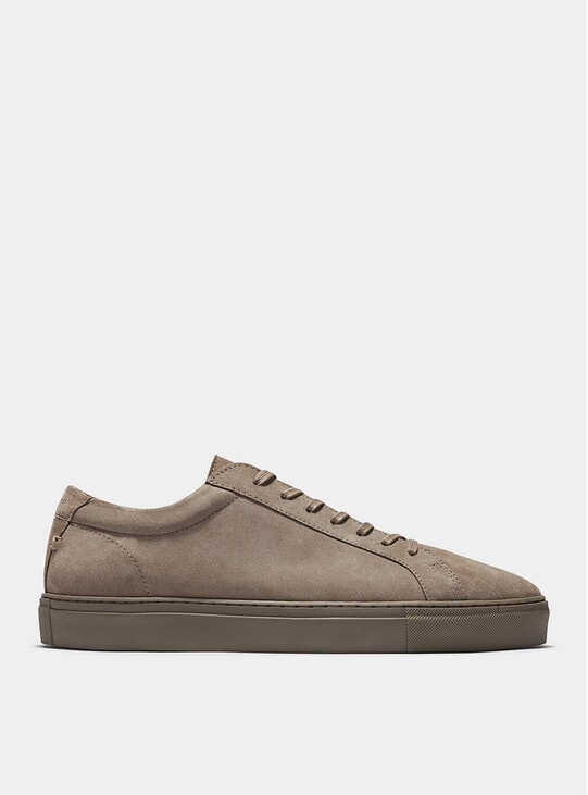 Taupe Suede Series 1 Sneakers