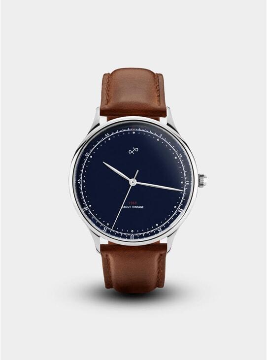 Vintage Steel / Midnight Blue Special 1969 Edition Watch