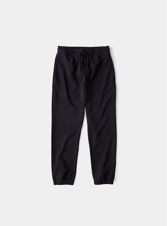 Black French Terry Sweatpants