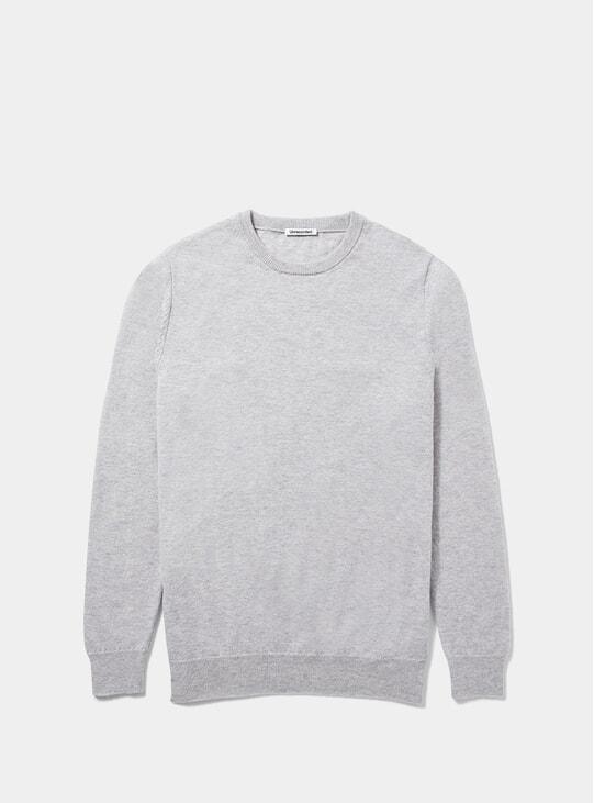 Grey Lambswool Sweater