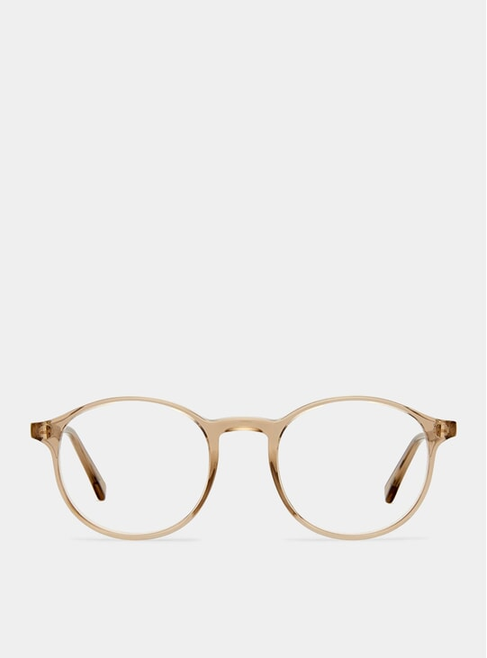 Petrol Transparent Shiny Expert Glasses