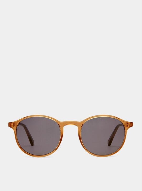 Rust Shiny Expert Sunglasses