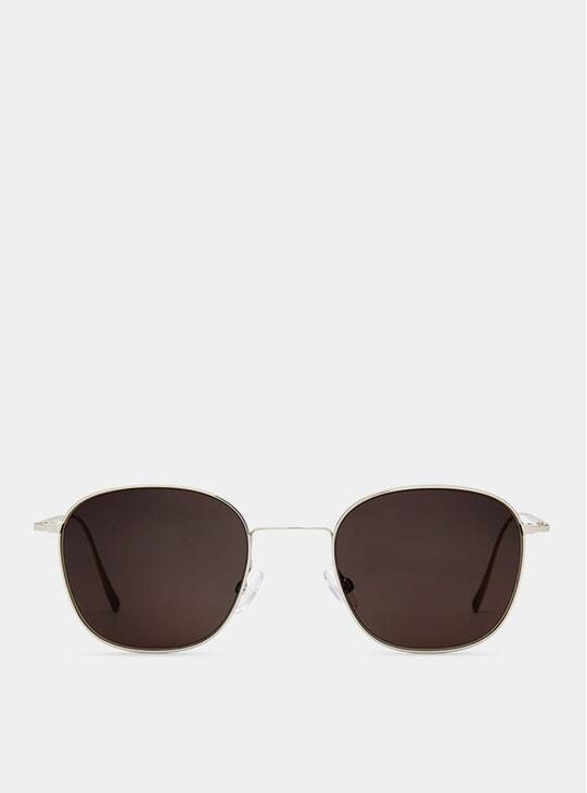 Shiny Palladium Vibrant Sunglasses