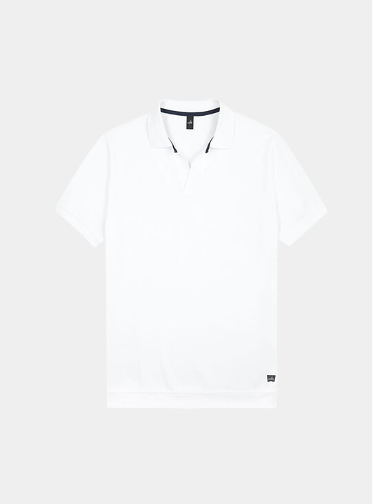 White Rice Polo Shirt