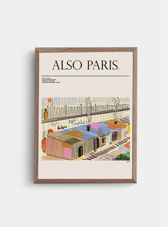Also Paris Print
