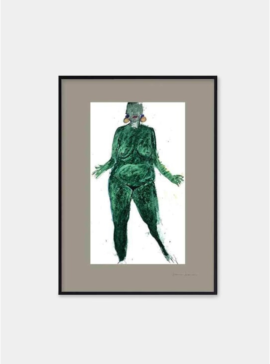Emerald Limited Edition Print