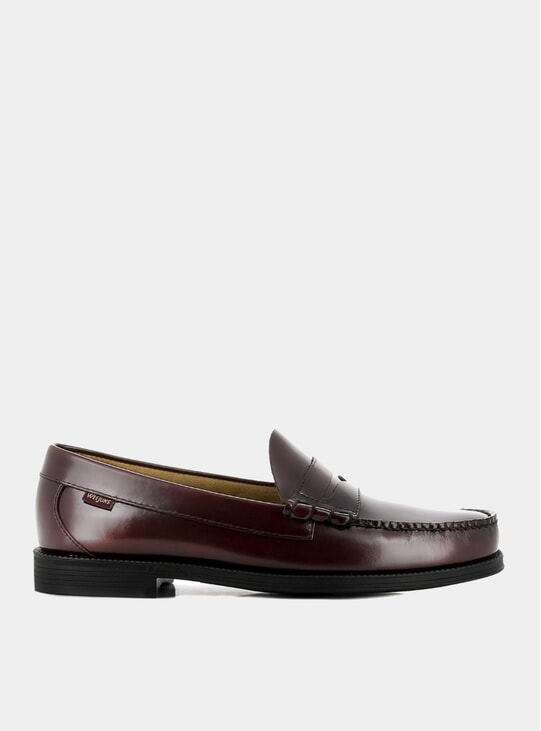 Wine Easy Weejuns Larson Penny Loafers