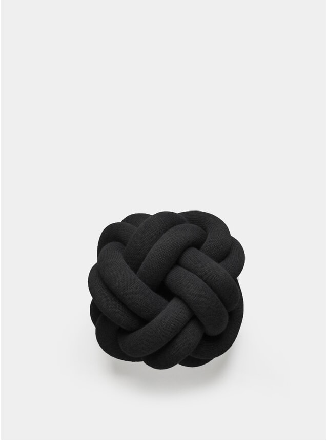 Anthracite Knot Cushion