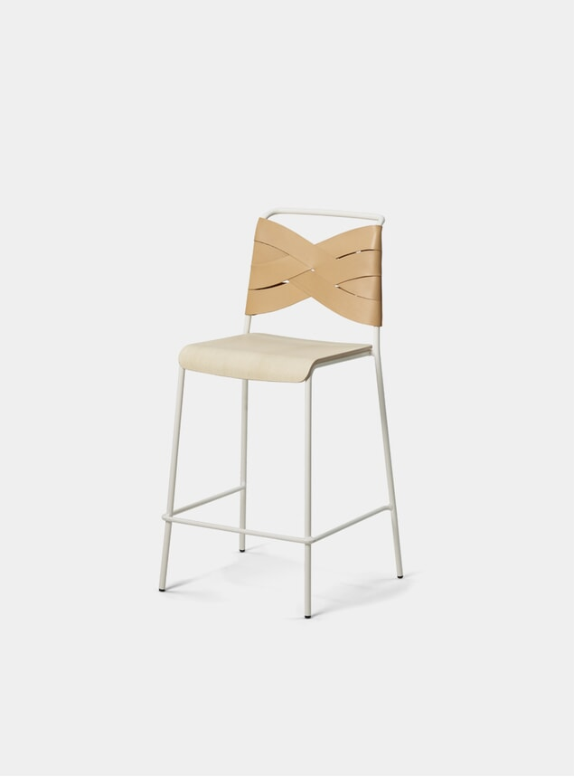 Ash / Natural Torso Bar Stool