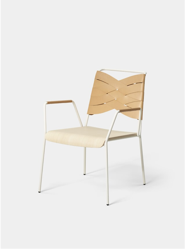 Ash / Natural Torso Lounge Chair