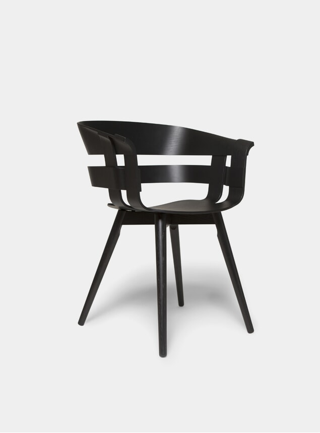 Black Ash Wick / Wooden Chair