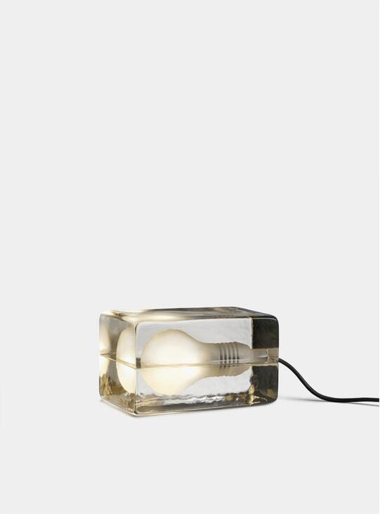 Black Block Lamp