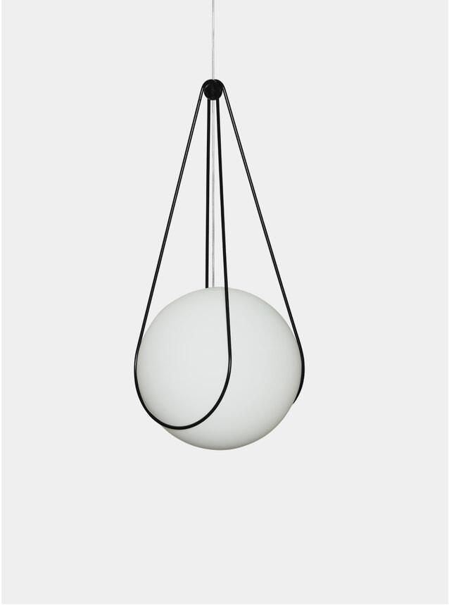 Black Kosmos Holder & Luna Pendant Lamp