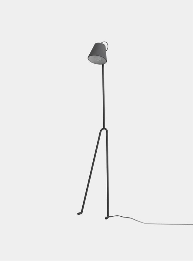 Dark Grey Manana Floor Lamp