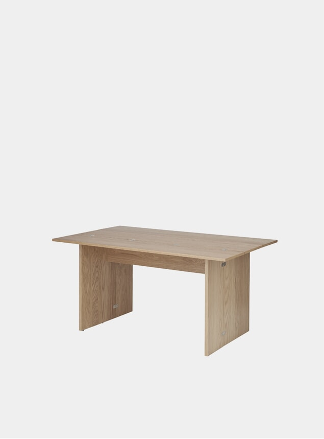 Oak Flip Table