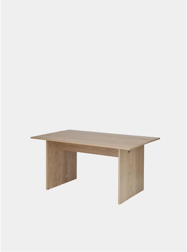 Oak Flip Table