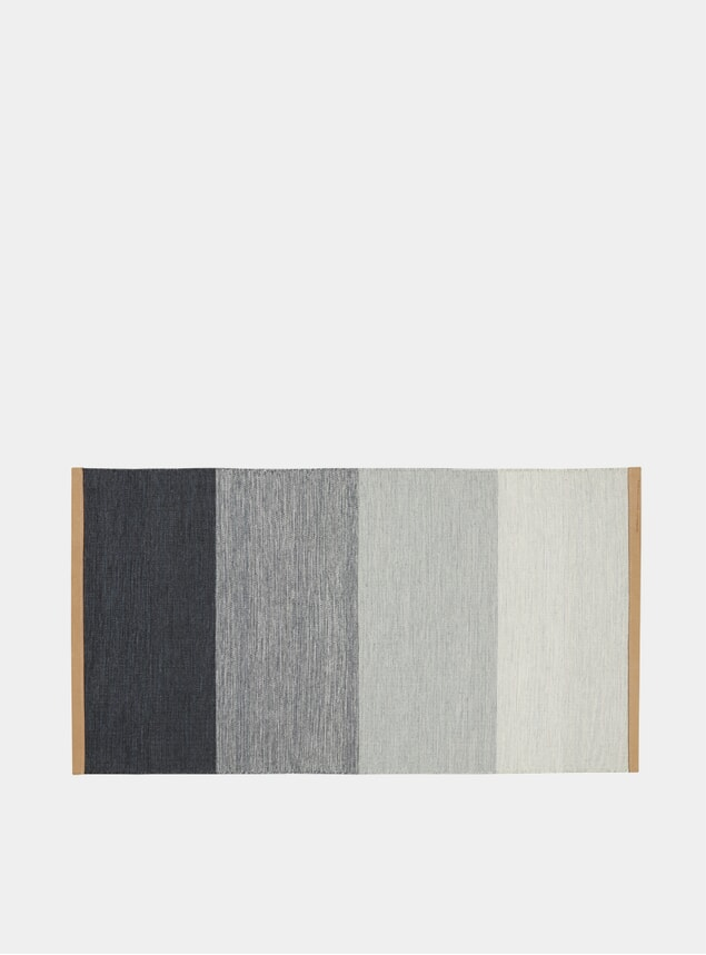 Small Blue / Grey Fields Rug