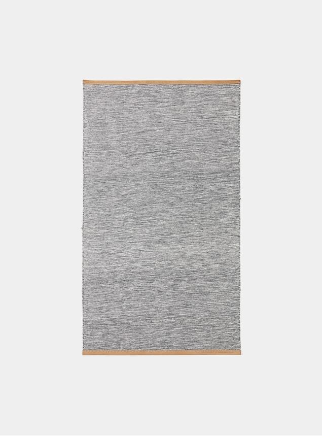 Small Bright Grey Stockholm Björk Rug