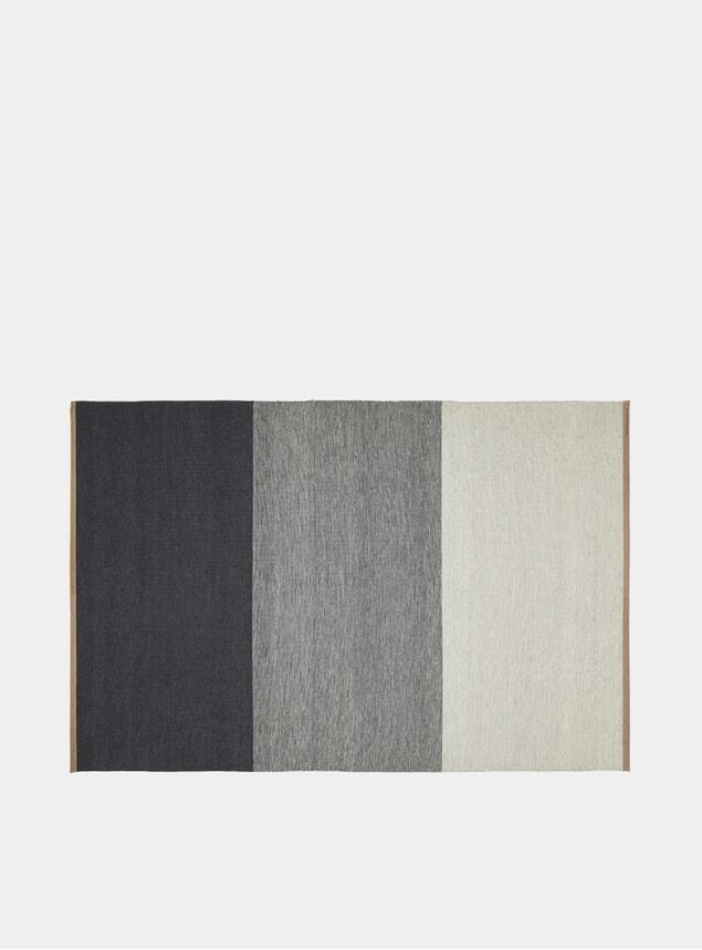X-Large Blue / Grey Fields Rug