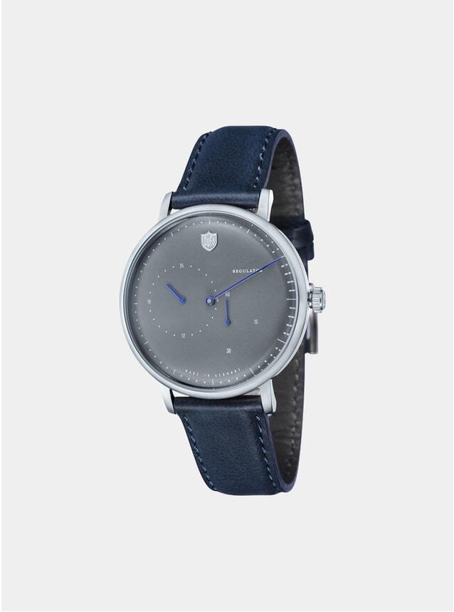 Aalto Automatic Regulator Navy / Grey Watch