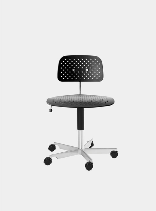 Black Kevi Air Swivel Chair