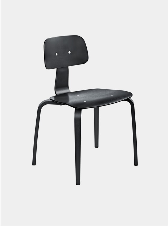 Black Lacquer Kevi 2070 Chair