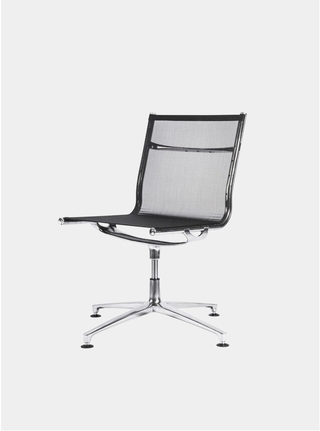 Black Neatweave Joint 1201 Swivel Chair