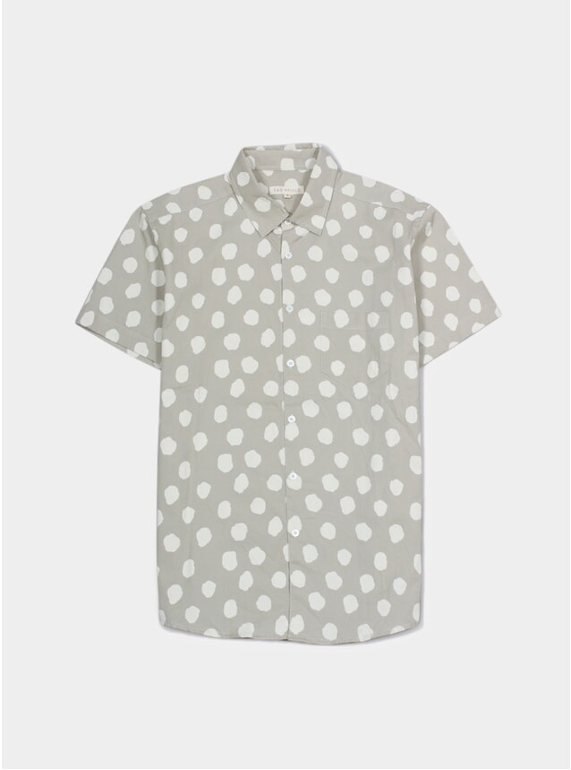Grey Smudge SS Classic Shirt