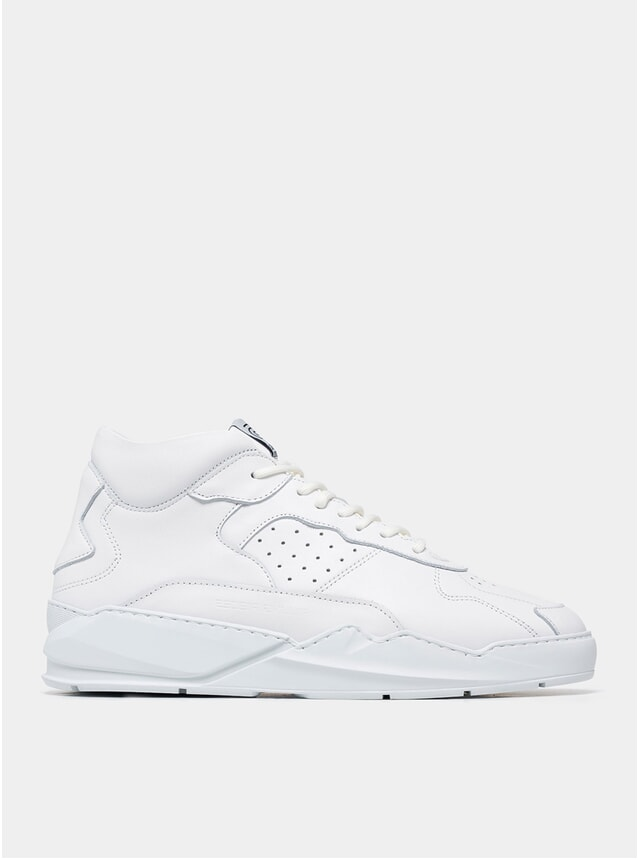 All White Lay Up Icey Flow 2.0 Sneakers