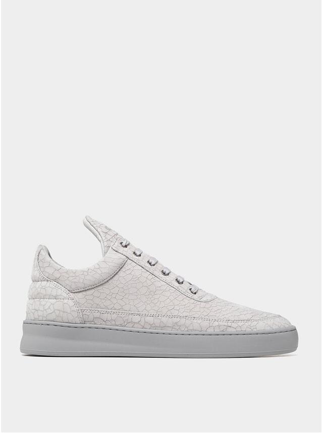 Grey Ceres Low Top Plain Sneakers