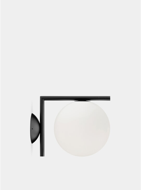 Black IC Ceiling / Wall Light