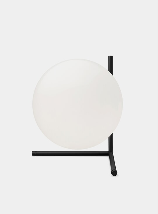 Black IC T2 Table Lamp