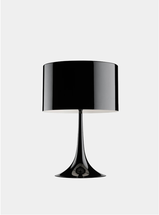 Black Spun Table Lamp