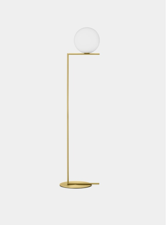 Brass IC Floor Lamp
