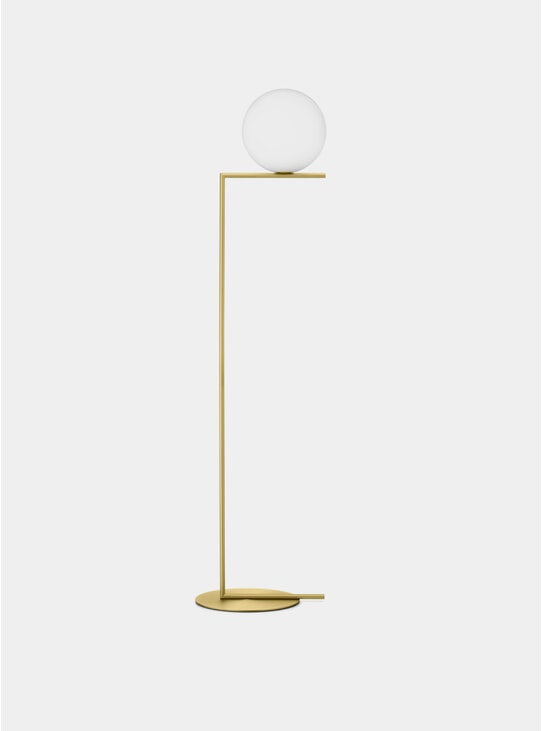 Brass IC Floor Lamp