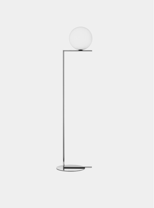 Chrome IC Floor Lamp