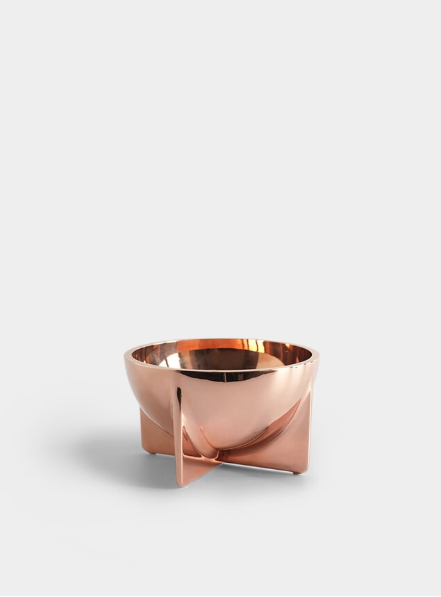 Small Copper Standing Bowl