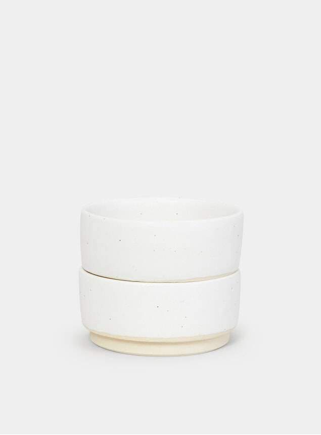 White Otto Bowl Set of 2