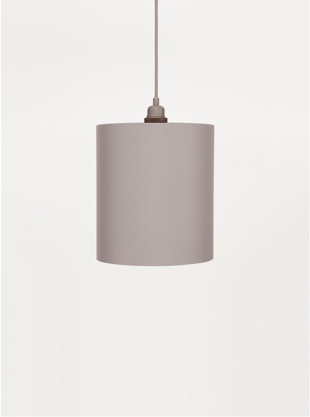 Large Grey Cylinder Pendant