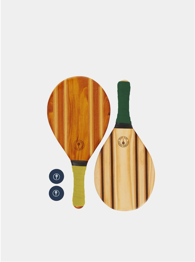 Yellow & Green Leblon Beach Bat Set