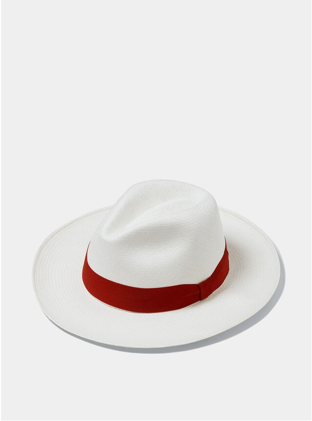 Red Panama Hat