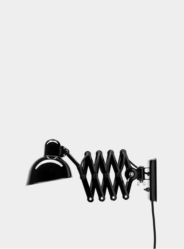 Black Kaiser Idell Wall Lamp