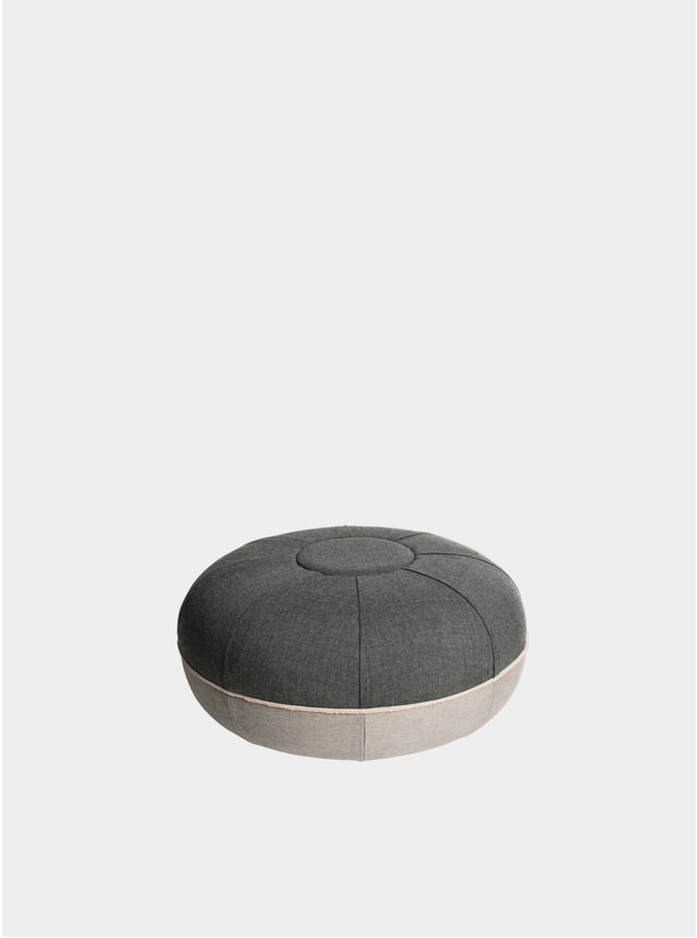 Concrete Small Pouf