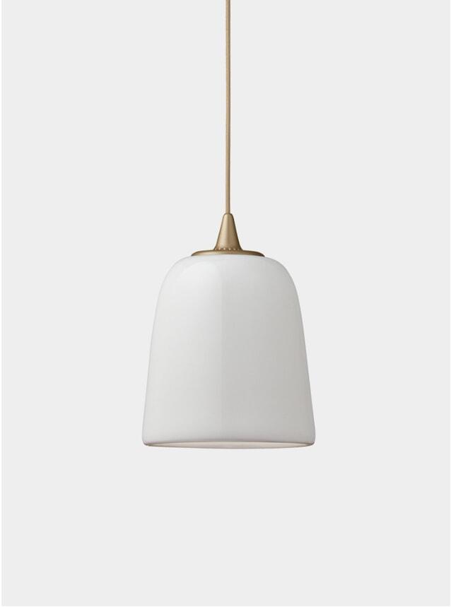 Gold Dogu Pendant Lamp