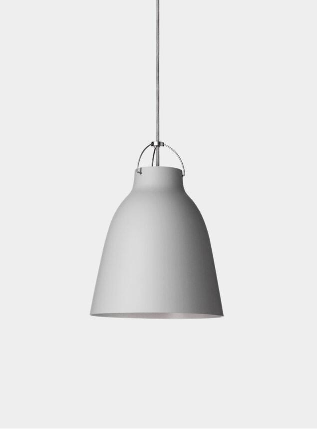 Matt Grey Caravaggio Pendant Lamp