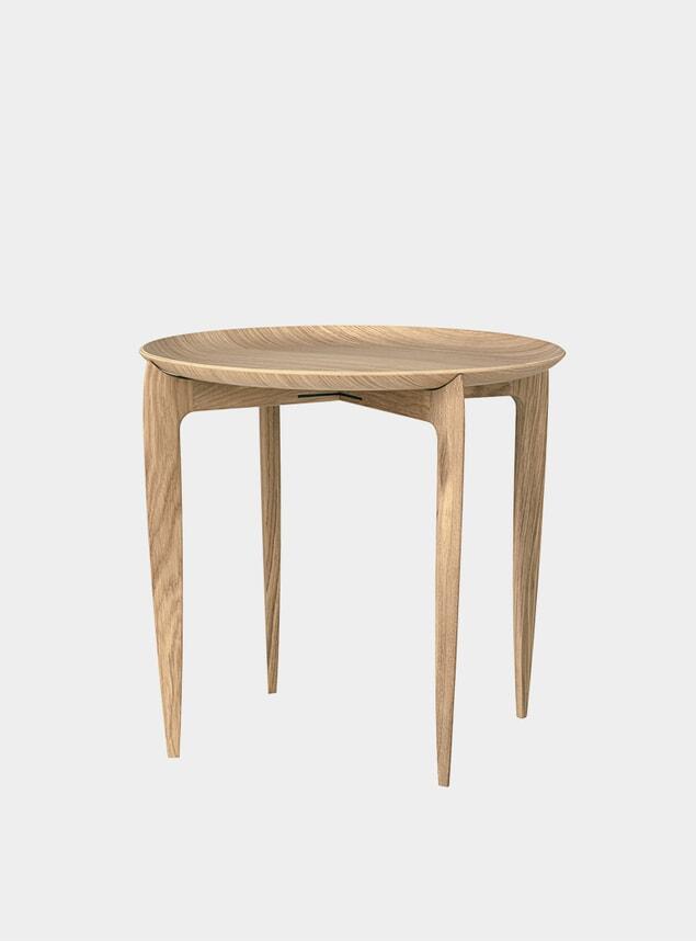 Oak Tray Table