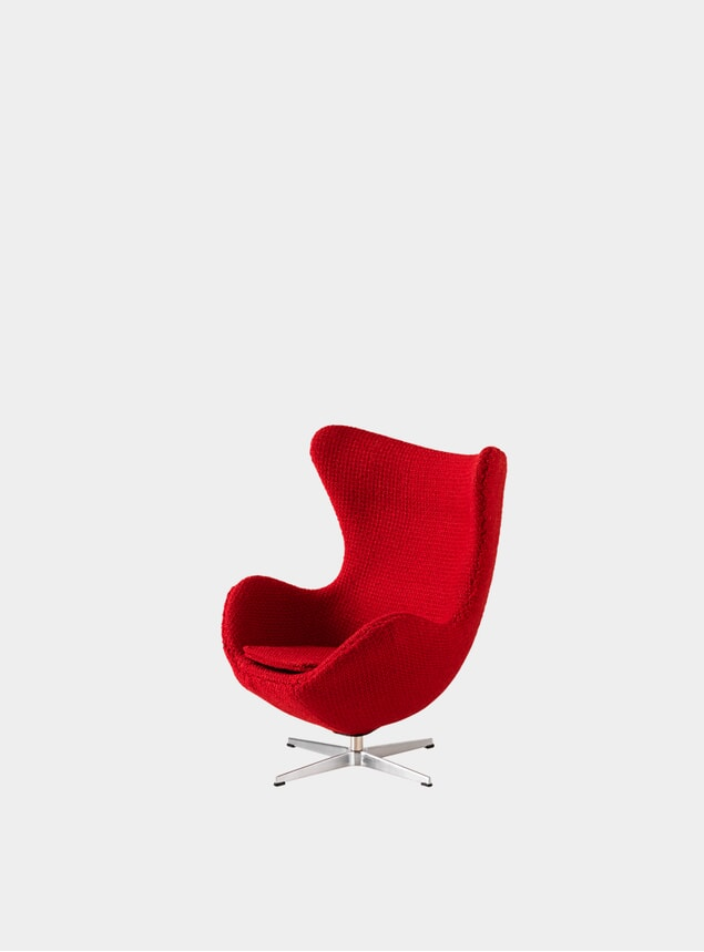 Red Miniature Egg Chair