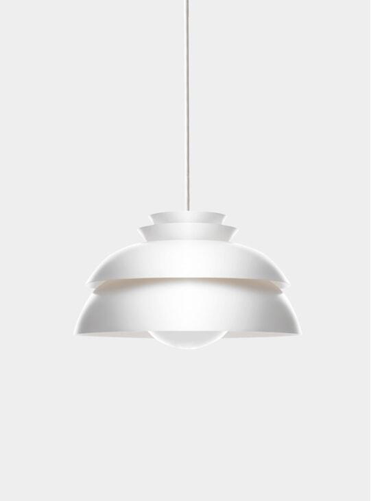 White Concert Pendant Lamp